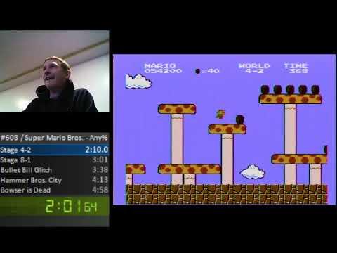 Super Mario Bros. Speedrun - 4:57.993 - Super Mario Bros. Speedrun - 4:57.993