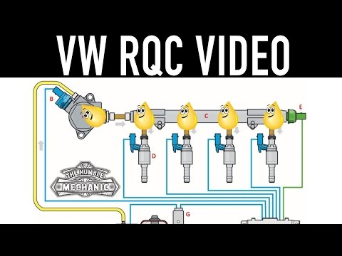 VW Technician Competition Video ~ Direct Fuel Injection