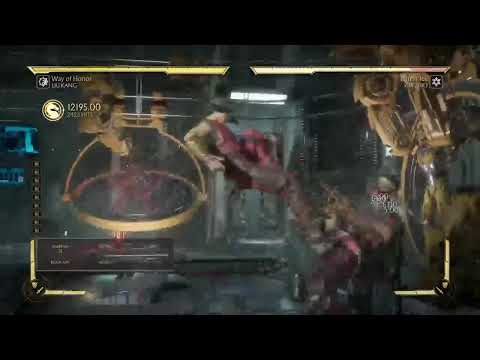 MK 11 longest bicycle kick