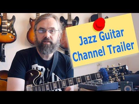 Jens Larsen Jazz Guitar Lessons - Trailer 2016