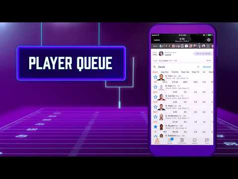 Yahoo Fantasy Football - Drafting Made Easy