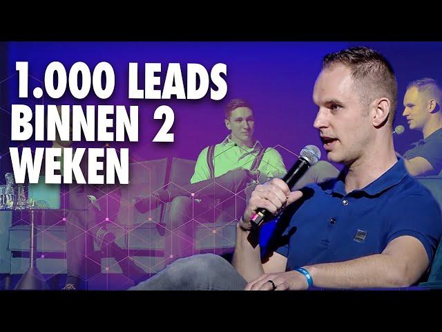 1.000 leads binnen 2 weken in een bijzondere branche