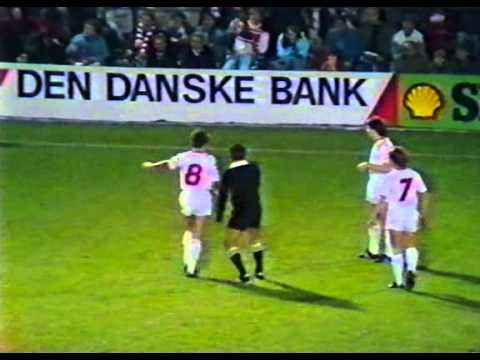 1986 FIFA World Cup Qualifiers - Norway v. Denmark