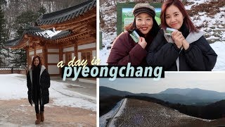 A Day in Pyeongchang, Korea | #Vlogmas.²²