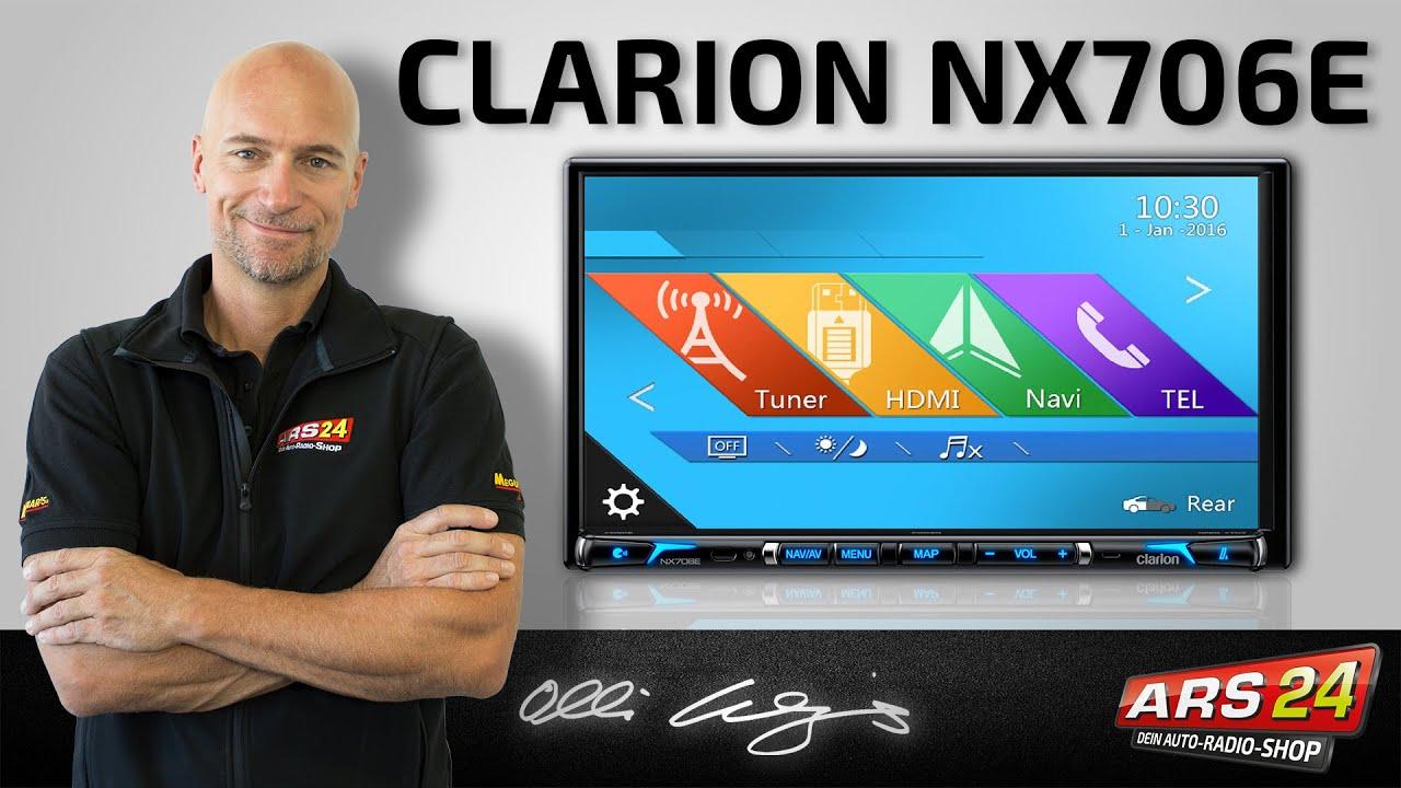 Clarion NX 706 E -ANLEITUNG- Multimedia-Autoradio mit Navigation ...