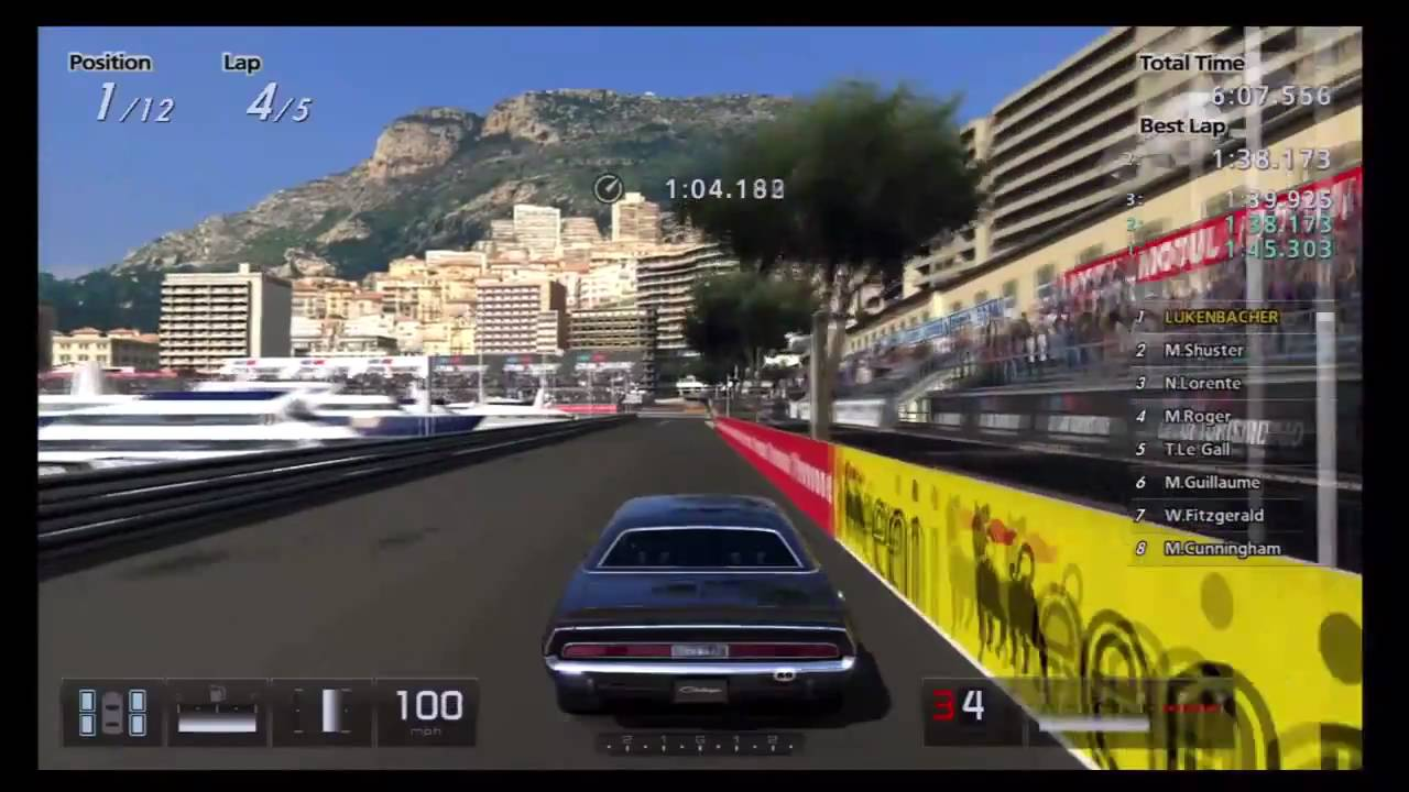 Gran turismo 5 historic racing cup 70 challenger r t