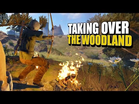 Taking Over The Woods (Rust Solo Survival) #46