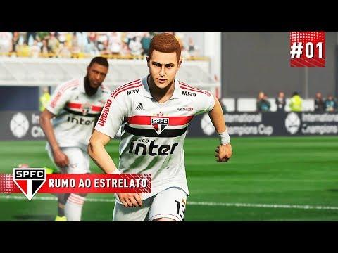 BRUNELLI JR NO SÃO PAULO? 😱 - RUMO AO ESTRELATO 01  PES 2019
