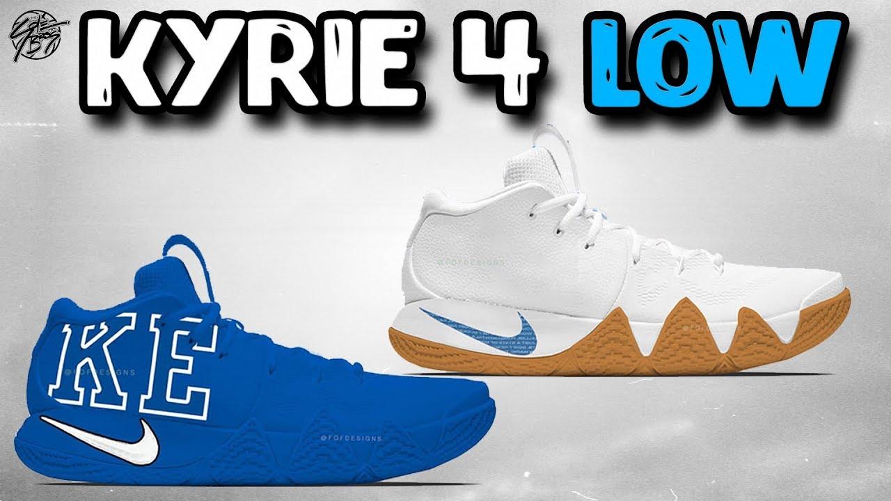 30dbbd4226603e Nike Kyrie 4 LOW Release Date + Leak! - YouTube