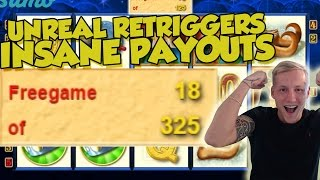 RECORD WIN Online Slot - GOLD of PERSIA Big Win and bonus round (Casino Slots) Huge win