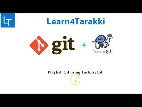 TortoiseGit Tutorial 2: How to clone Git Repository - YouTube