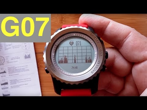 Makibes G07 Smart Sport Watch: Unboxing and Review