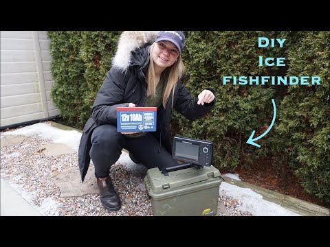 My Ultimate DIY Ice Fishing Fishfinder Review!