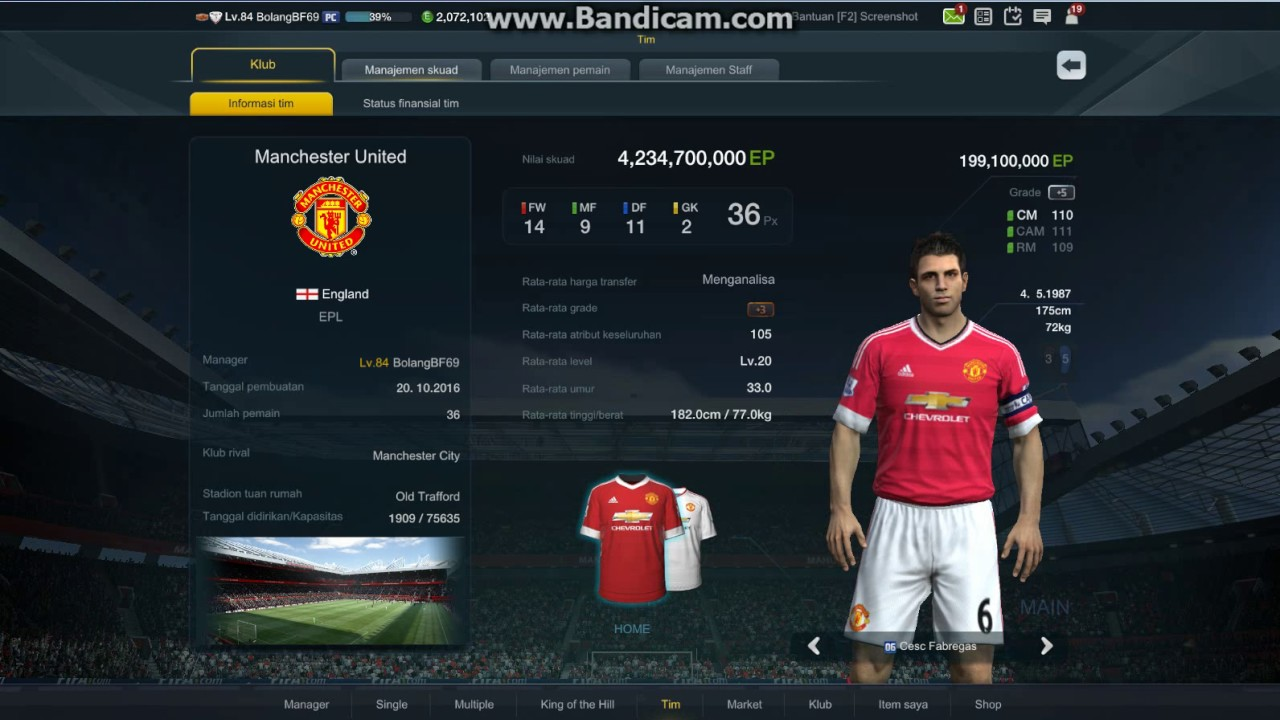Formation Strategy Fifa Online 3 Indonesia Server A 449 Youtube
