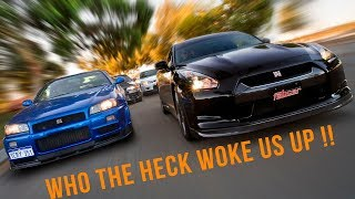 Never MESS With A Sleeping GTR !!