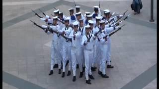 Esibizione del Plotone di Alta Rappresentanza della Brigata Marina San Marco e Gruppo 'Silent Drill'
