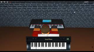 Watashi no Uso/Kimi ga Iru - Shigatsu Wa Kimi No Uso/YLiA by: Yokoyama Masaru by: on a ROBLOX piano.