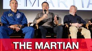 THE MARTIAN Matt Damon & Ridley Scott Q&A
