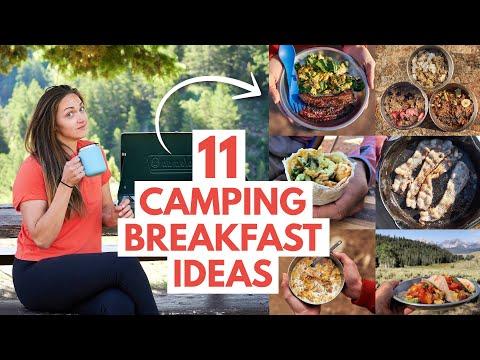 11 SUPER EASY Camping Breakfast Ideas