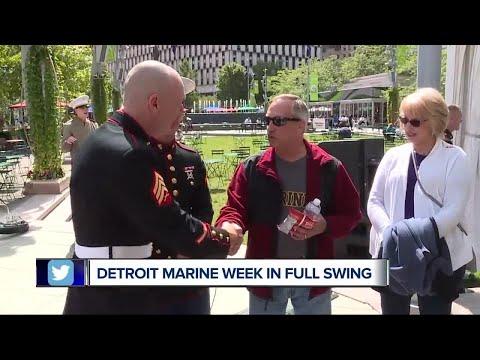 Detroit Marine week in full swing