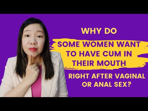 do girls like cum in their mouth