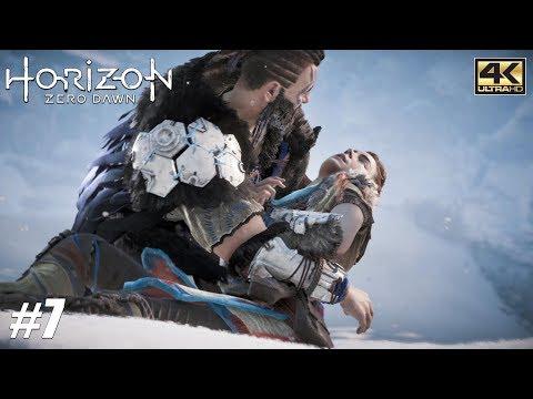 Horizon Zero Dawn - PS4 Pro Gameplay Playthrough 4K 2160p - PART 7