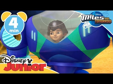 Magical Moments | Miles From Tomorrow: Exo-Flex | Disney Junior UK