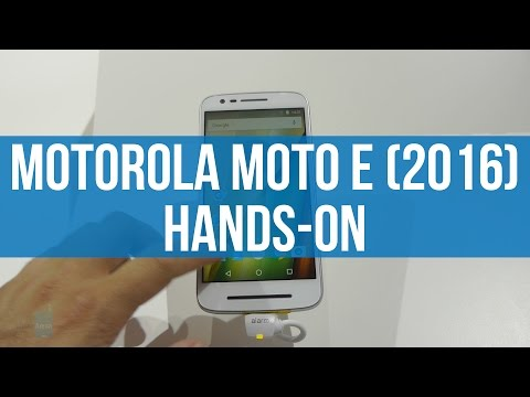 Motorola Moto E (2016) hands-on: affordable and unremarkable