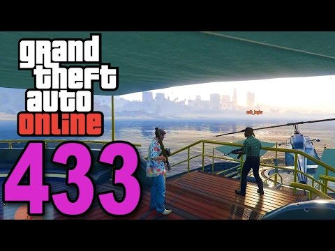 Grand Theft Auto 5 Multiplayer - Part 433 - I AM A CRIME BOSS! (Defend the Yacht Gameplay)
