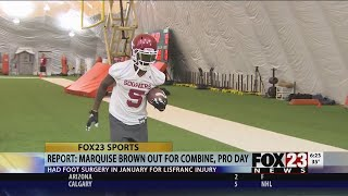 Marquise Brown to miss NFL combine, OU pro day after surgery