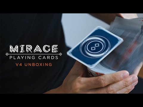 Mirage Playing Cards V4 | Midnight Blue Edition