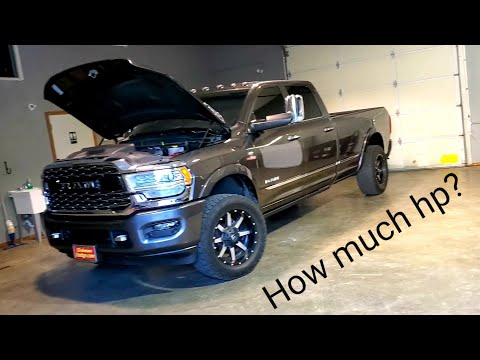 How much power can the 2019 Ram Cummins handle