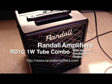 Randall RD1C 1W Tube Combo - Demo