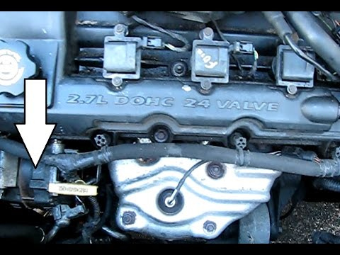 How to replace the alternator on a 27L Chrysler Engine: Sebring, Intrepid, Stratus 19982010