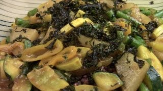 Mixed Vegetables Stir Fry With Spicy Miso Sauce