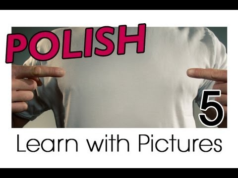 Learn Polish with Pictures - All Parts of the Body