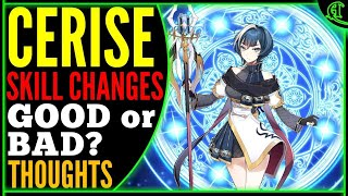 Cerise skill changes thoughts (GOOD or BAD?) Epic Seven Review Epic 7 PVP E7 [Strength & Weakness]
