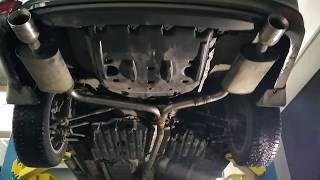 Ремонт раздвоенного выхлопа Toyota Camry в Тольятти