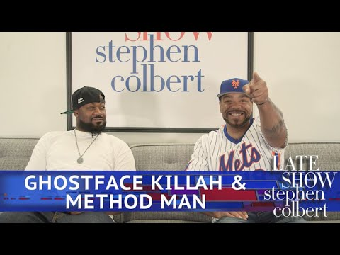 Late Show's Alter Egos: Method Man And Ghostface Killah Edition