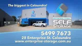Enterprise Street Self Storage TVC