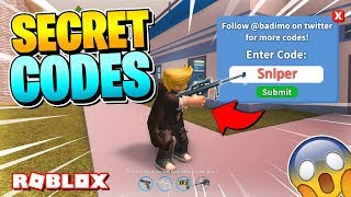 ROBLOX JAILBREAK UPDATE: CODES & SNIPER CONFIRMED?! [2018]