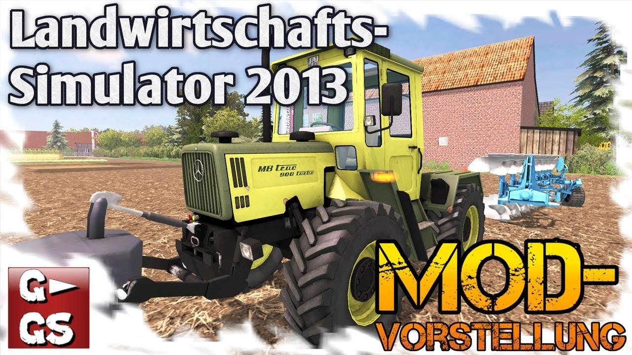 LS13 Mod MB Trac 900 Turbo Baujahr 1990 Modvorstellung Landwirtschafts  Simulator 2013 by Gadarol