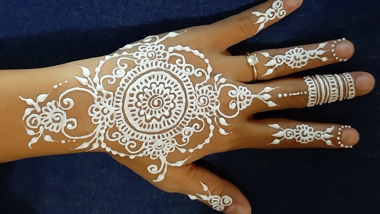 Henna Art Pengantin Sederhana