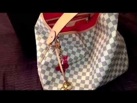 45d4579f4dba Смотреть видео New 2015 Louis Vuitton delightful mm Azur!💕👜💕 онлайн