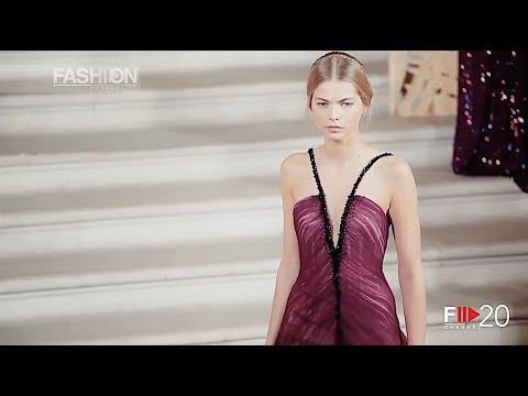 Rami Al Ali Haute Couture Fall 2014 Paris Fashion Channel Youtube