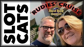 VLOG ???? RUDIES' CRUISE ???? Day 1 of 5 ???? Hard Rock Casino Tampa ???? The Slot Cats ????????????