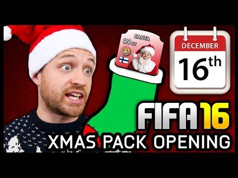 XMAS ADVENT CALENDAR PACK OPENING #16 - FIFA 16 ULTIMATE TEAM