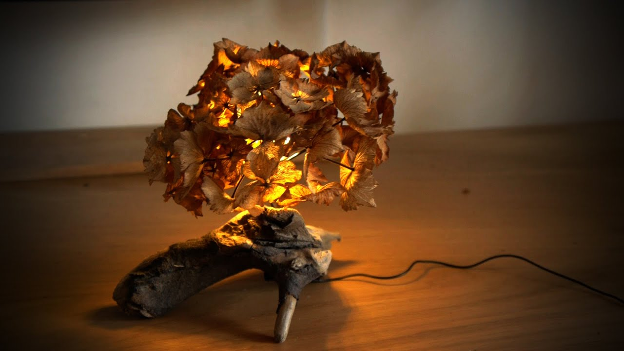 How to make a cosy leaf-light