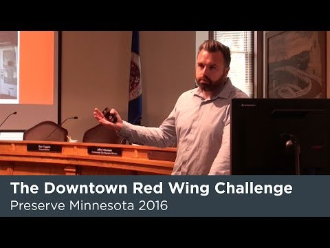 Preserve MN 2016: The Downtown Red Wing Retail Challenge