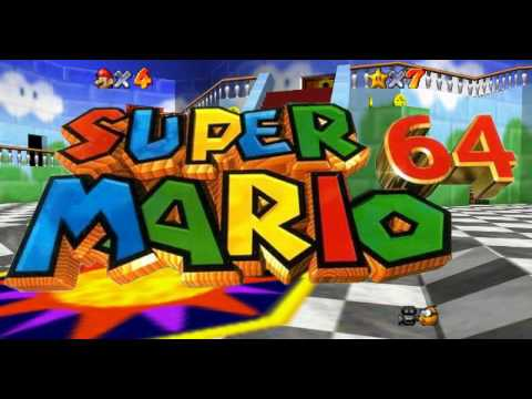 Super Mario 64: Inside The Castle Walls [High quality rip]